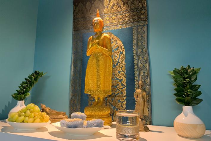 Buddyzm, a masaż tajski